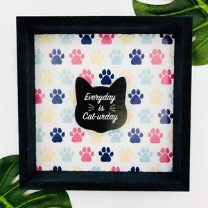 NEW! Everyday is Catur-Day! Shadow Box Decoration
